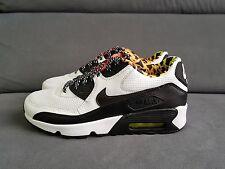 Nike AIR MAX 90 FB GS TG UK 6 US 6.5Y (833477100) bianco/BLC Volt