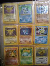 Original Pokemon Lot Base Set Jungle,Fossil,Holo,Shadow less,1St Edition 20 Cards