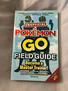 The Unofficial Pokemon Go Field Guide ***Fast Dispatch - Free Shipping***
