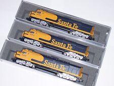 Kato N Scale Santa Fe 3 Loco Set 1769211 1769212 1769213  EMD SDP40F Type IVa