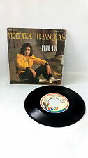 45 tours FREDERIC FRANCOIS - QUAND VIENT LE SOIR ON SE RETROUVE vinyle musique