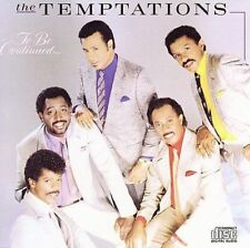 To Be Continued... by The Temptations [Motown] CD, Oct-2006, NEW