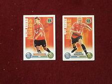 Match Attax 2008 2009 - 10 verschiedene Basiskarten - Bundesliga aussuchen