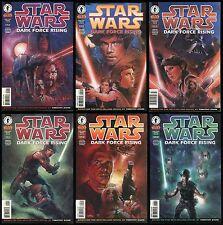 Star Wars Dark Force Rising Comic Set 1-2-3-4-5-6 Timothy Zahn ROTJ film sequel
