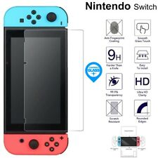 For Nintendo Switch Console Tempered Glass Screen 9H Protector Film Cover Clear