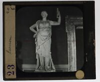 Italia Roma Soprammobile Juno Foto n20 Placca Da Proiezione Lanterna Magica