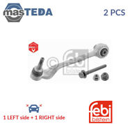 2x FEBI BILSTEIN FRONT LH RH TRACK CONTROL ARM PAIR 30514 P NEW OE REPLACEMENT