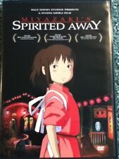 Spirited Away (2001) Dvd Disney Studio Ghibli 2-Disc Hayao Miyazaki Anime
