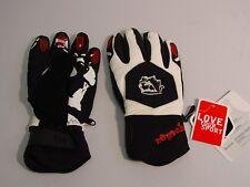 Reusch Snow Board Gloves Adult Medium (8.5) Agressor RLoft 2903104 WHITE SAMPLES