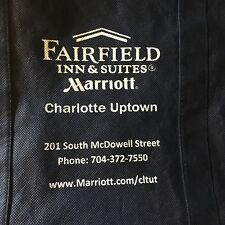 Fairfield Inn & Suites Marriott Grocery Bag Tote Travel Charlotte Uptown Rare