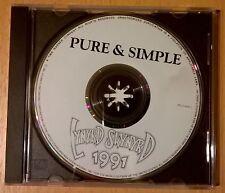 RARE CD single promo LYNYRD SKYNYRD Pure & Simple