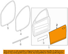 Chevrolet GM OEM 11-15 Cruze-Door Skin Outer Panel Right 95953797