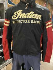 Indian Flat Track Jacket , Black , verschiedene Größen