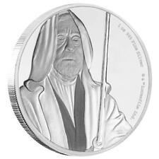 Niue - 2 Dollar 2017 - Obi Wan Kenobi™ - Star Wars™ Classics (6.) 1 Oz Silber PP