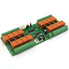 USB 16 Channel Relay Module, Board for Your Home Automation Project 12V