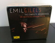 Emil Gilels The Complete Recordings on Deutsche Grammophon, NEW 24 CD box set