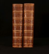 1844 2Vol A New Dictionary English Languge Explanation with Etymology Richardson