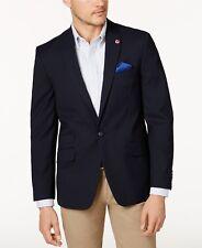 $350 BEN SHERMAN men BLUE WOOL SLIM FIT SUIT JACKET BLAZER SPORT COAT 44 R