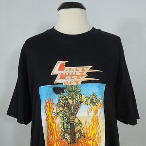 - CRAZY LAZY ! Que Viva El Rock! T-Shirt Black Men's size L (NEW) NWOT