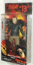 """MIP NECA Friday 13th JASON VOORHEES Final Chapter 7"""" movie maniac action figure"""