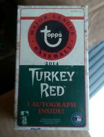 2014 Topps Turkey Red MLB Baseball Factory Sealed Pack 1 Auto Autograph Per Box