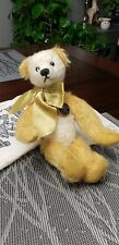 Knickerbocker New Generation Collection stuffed mohair jointed bear With tags