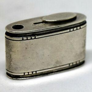 1933-1944 Authentic Georg Jensen Sterling Silver Pill Dispenser Box