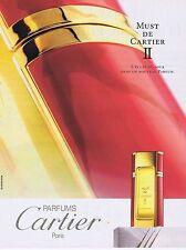 PUBLICITE ADVERTISING 114 1993 CARTIER Must de Cartier II