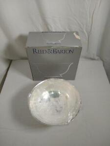 """Reed & Barton Paul Revere Sterling Silver Silver-Plated 105 Large 9"""" Bowl"""
