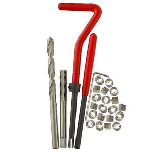 M6 x 1.0mm Thread repair kit / helicoil 25pc set damaged thread AN048