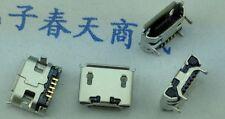 5 PC MICRO USB PRESA FEMMINA 5 PIN Smd PCB MOUNT Jack Ox HORN quattro gambe PIASTRA