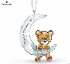 Swarovski Baby's 1st Christmas Ornament 2020 Mib #5533941