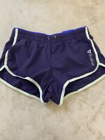 REEBOK Woman's Size Small TEMPO Running Athletic Shorts Purple