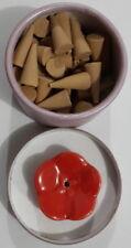 Sandalwood Natural Cone Incense (3 pack)