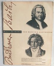 Von Bach Bis Beethoven Willy Rehberg Piano Edition Schott 2174