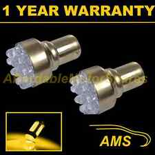 2x 382 1156 Ba15s Xenon ámbar 12 Domo Led Frontal indicador bombillas fi200202