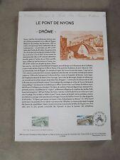 Collection Historique Timbre Poste 1er Jour : 20/05/95 - LE PONT DE NYONS