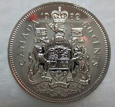 1982 CANADA 50 CENTS PROOF-LIKE HALF DOLLAR COIN
