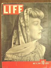 LIFE May 13 1940 Norway Sea Biscuit, Willkie, New Mexico