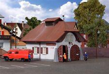 Kibri HO 38032 RURALE Firehouse incl. illuminazione casa Start Set NUOVO