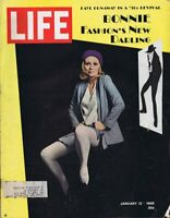 ORIGINAL Vintage Life Magazine January 12 1968 Faye Dunaway Bonnie & Clyde
