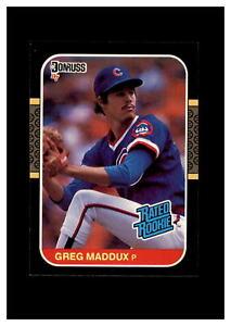 1987 Donruss Set Break # 36 Greg Maddux NM-MT OR BETTER *GMCARDS*