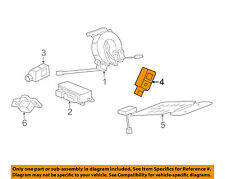 Chevrolet GM OEM Malibu Supplemental Restraint System-Impact Sensor 13583355