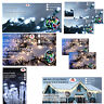 CHRISTMAS FAIRY LED LIGHTS GALORE ICICLE BATTERY CLUSTER STRING 4 COLORS N WHITE