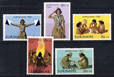Suriname - 1961 Girl scouts Mi. 408-12 MNH