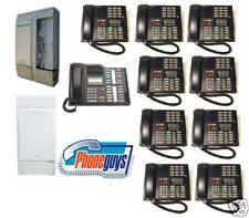 Nortel Norstar Telephone System 8 Lines 10 Phones M7310