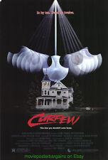 CURFEW MOVIE POSTER Original SS 27x40 One Sheet 1989 HORROR FILM