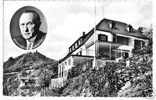 AK, rhöndorf A. rhin, maison Adenauer avec vue sur le Drachenfels, pour 1962