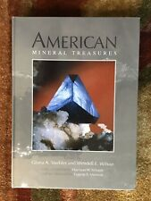 American Mineral Treasures Hardcover Book 2011, Lithographie, New, Rare
