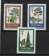Finland  Sale 1967 TB Relief Fund MNH Set